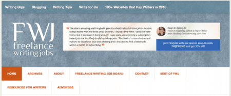 Freelance job websites