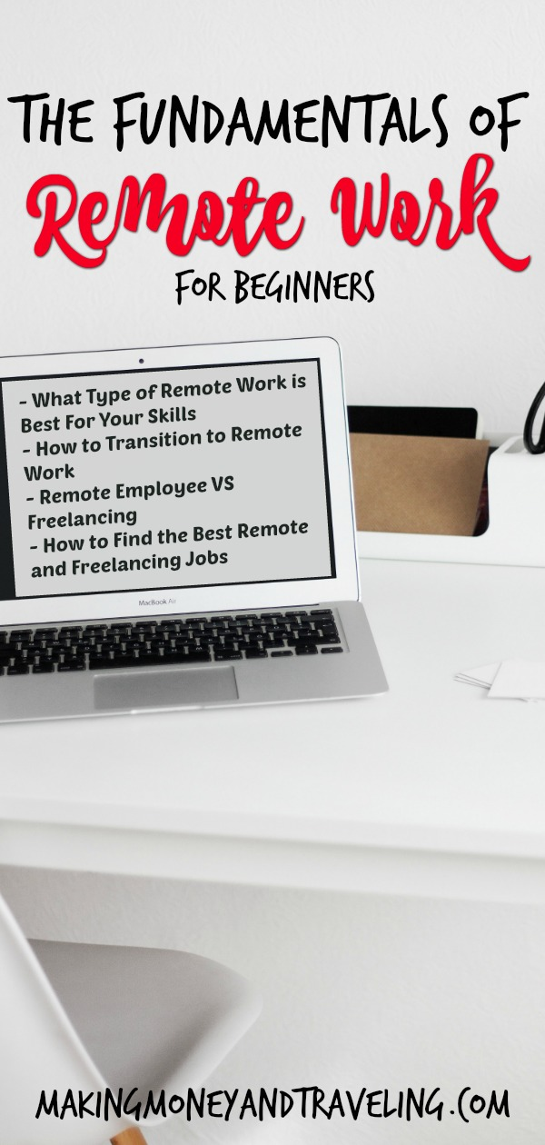Find Remote work and freelancing for beginners