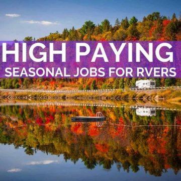 Seasonal Jobs for RVers